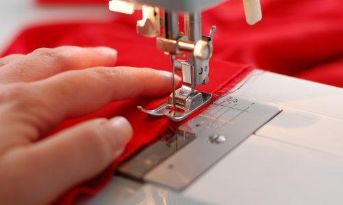 Industriële naaimachine leuk om te gebruiken